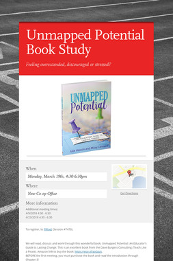 Unmapped Potential Book Study