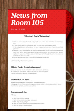 News from Room 105