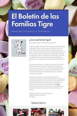 El Boletín de las Familias Tigre