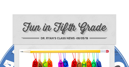 Fun in Fifth Grade   Smore Newsletters for Education