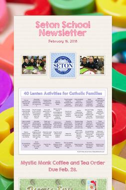 Seton School Newsletter