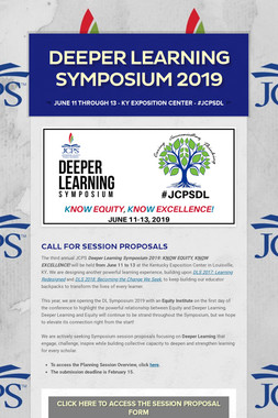 Deeper Learning Symposium 2019