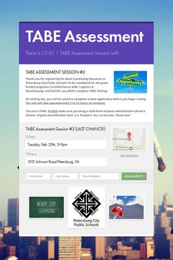 TABE Assessment