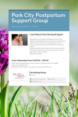 Park City Postpartum Support Group