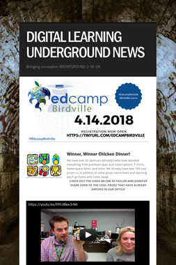 DIGITAL LEARNING UNDERGROUND NEWS
