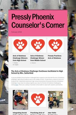 Pressly Phoenix Counselor's Corner