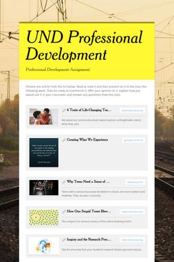 UND Professional Development