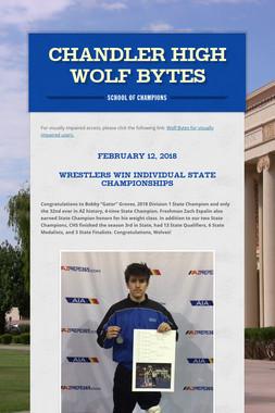 Chandler High Wolf Bytes