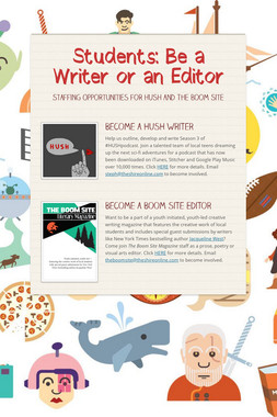 Students: Be a Writer or an Editor