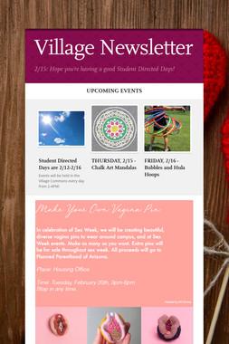 Village Newsletter