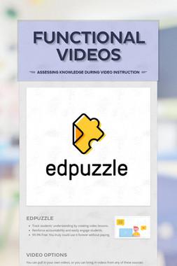 Functional Videos