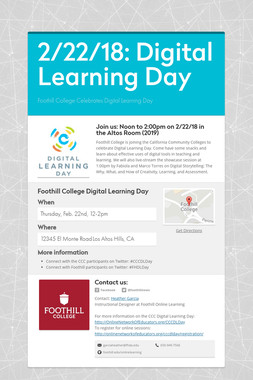 2/22/18: Digital Learning Day