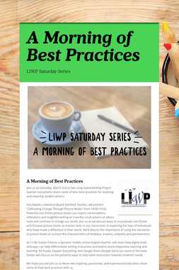 A Morning of Best Practices