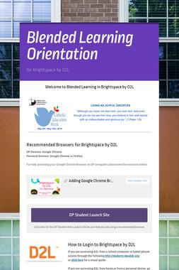 Blended Learning Orientation