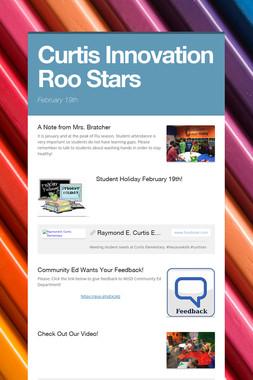 Curtis Innovation Roo Stars