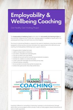 Employability & Wellbeing Coaching