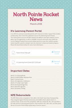 North Pointe Rocket News