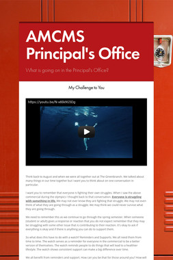 AMCMS Principal's Office