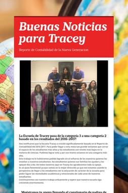 Buenas Noticias para Tracey