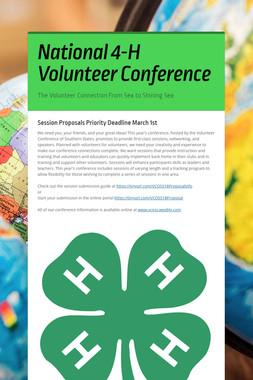 National 4-H Volunteer Conference