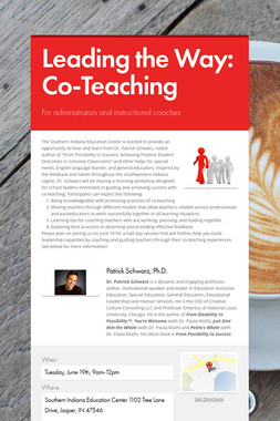 Leading the Way: Co-Teaching