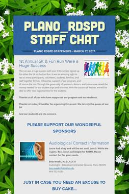 Plano_RDSPD Staff Chat