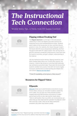 The Instructional Tech Connection