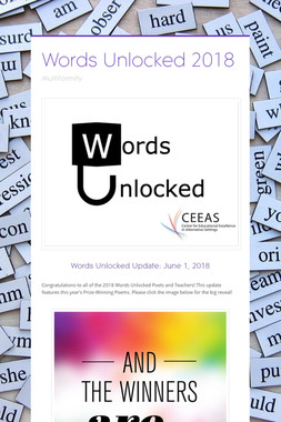 Words Unlocked 2018