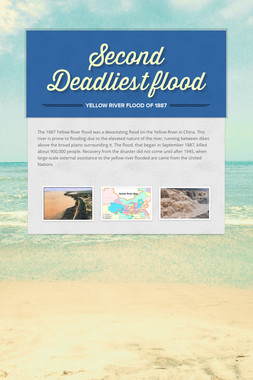 Second Deadliest flood