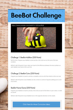 BeeBot Challenge
