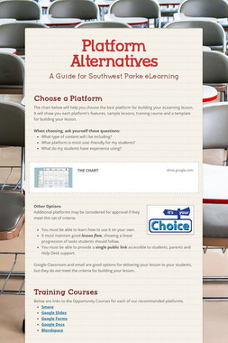 Platform Alternatives