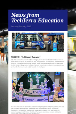 News from TechTerra Education