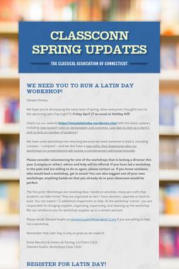 ClassConn Spring Updates
