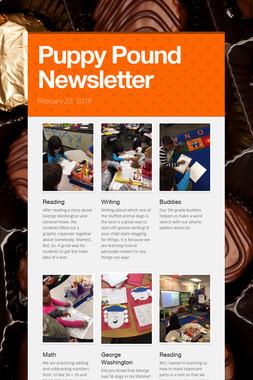 Puppy Pound Newsletter