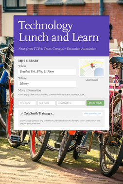 Technology Lunch and Learn