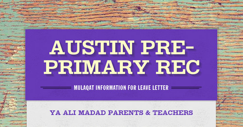 Austin pre primary rec smore newsletters for education altavistaventures Gallery