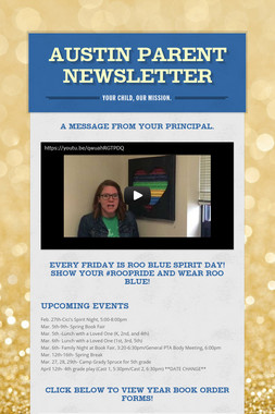Austin Parent Newsletter