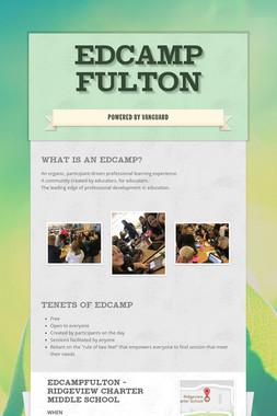 EDCAMP FULTON