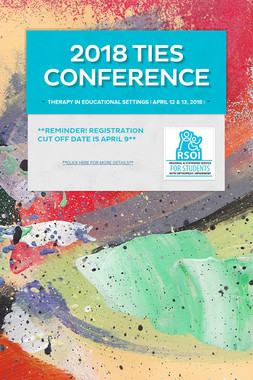 2018 TIES CONFERENCE