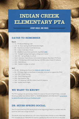 Indian Creek Elementary PTA