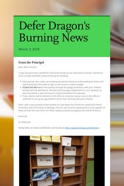 Defer Dragon's Burning News