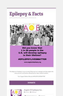 Epilepsy & Facts