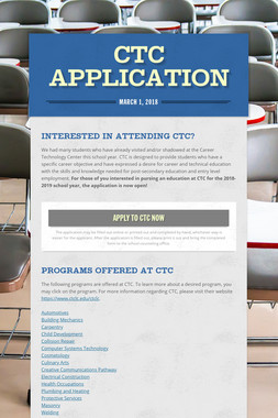 CTC Application