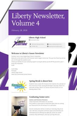 Liberty Newsletter, Volume 4