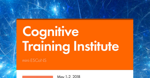 Cognitive Training Institute | Smore Newsletters for Education