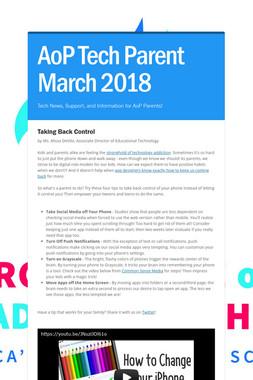 AoP Tech Parent March 2018