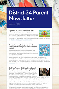 District 34 Parent Newsletter