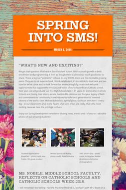 Spring into SMS!