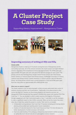 A Cluster Project Case Study