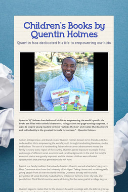 Children's Books by Quentin Holmes